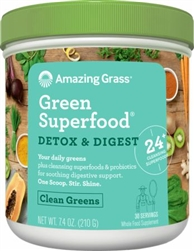 Amazing Grass Green SuperFood - Detox & Digest